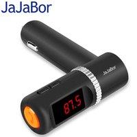 radio bluetooth solar al por mayor-Kit Bluetooth Cargador JaJaBor BC08 Bluetooth manos libres inalámbrico Reproductor MP3 Transmisor FM con doble puerto USB