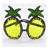 Wholesale Wholesale Party Supplies Direct - Funny Plastic Pineapple Glasses Cute Resuable Eyeglasses For Masquerade Party Decoration Spectacles Factory Direct Sale 3 4mt X
