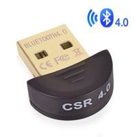 bluetooth usb für laptop großhandel-CSR4.0 USB Wireless Bluetooth Adapter Dual Modus Mini Bluetooth Computer Adapter Dongle Für Computer PC Laptop XP Windows Vista