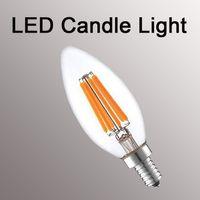 ingrosso lampadine a base di globo-Dimmerabile Led Filament luci e12 e14 e27 e27 b22 lampadina a bulbo 2W 4W 6W 8W globo lampadine G45 A60 ST64 G95 lampada a led