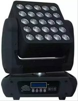 Wholesale moving head light rgbw cree - High-quality LED 25pcs*12W Matrix Moving Head Beam Light Cree RGBW 4IN1 Leds DMX 512 Beam Moving Head CE Certificate LLFA