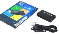 Wholesale usb audio input adapter resale online - Premium Version For PS2 To HDMI Video Converter Adapter Practical For PS2 Ypbpr USB V Input HDMI Audio Output