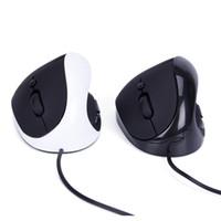 gesunde maus großhandel-Gesunde ergonomische Maus der vertikalen verdrahteten Maus 6 mit DPI-Schalter Vertikales Spielen