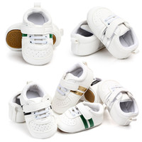 b42c3e3a0b11b White Leather baby shoes Kids Children Boy Girl Sneakers Baby Infant Bebe  Soft Soled Booties First Walkers Crib Boots