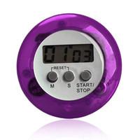 contar el reloj al por mayor-LCD Temporizador de Cuenta Regresiva de Cocina Digital Soporte Posterior Temporizador de Cocina Cuenta UP Despertador Utensilios de Cocina Utensilios de Cocina