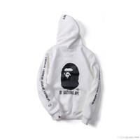 Wholesale large c - Autumn and winter new big C flocking joint Japanese tide brand loose large size hood hooded sweater for men and women with the wholesale