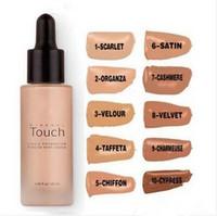 Wholesale Minerals Kit - Make You Unique Mineral Touch Skin Liquid Makeup Foundation 20ml Pro Concealer Base Primer Maquillage Kit