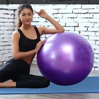Wholesale 65cm yoga ball - Thickening Yoga Ball Pregnant Woman Children Bodybuilding Plasticity Exercise Equipment New Balance Multi Color Leisure Time Motion 14 9dk c