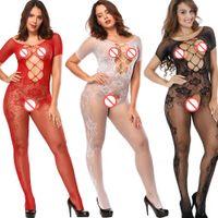 ingrosso pigiami di seta gialli-Lingerie sexy Taglie forti Lingerie Lenceria Costumi sexy Intimates Calze corpo donna Fantasie Sexy Erotic J1548