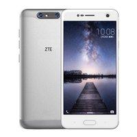 двухъядерный смартфон оптовых-Оригинальный мобильный телефон ZTE Blade V8 4G LTE Snapdragon 435 Octa Core 4 ГБ ОЗУ 64 ГБ ПЗУ Android 7.0 5.2