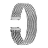Wholesale pebble steel band for sale - mm Milanese Loop Band Magnetic Buckle Strap for ASUS Zenwatch LG G Watch W100 W110 W150 Pebble Time Stainless Steel Bracelet