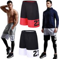 4xl tennis-shorts großhandel-5XL Sport Shorts Männer Fitness Kleidung Tasche Fußballkorb Sportbekleidung Lose Sport Männer Shorts Tennis Zipper Basketball