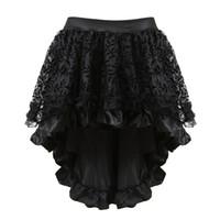 6f0e0654204c Kaufen Sie im Großhandel Schwarze Steampunk Röcke 2019 zum verkauf ...