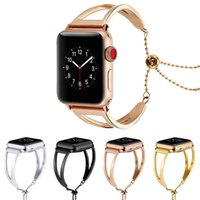 Wholesale iwatch apple steel for sale - Group buy Luxury Stainless Steel Strap For Apple Watch Band mm mm Link Bracelet Watchband For IWatch Metal Wrist Belt