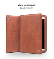 ipad promosyonları toptan satış-Fabrika Promosyon $$ L S 35 Kılıf iPad Pro 9.7 inç Kılıf Flip Akıllı Standı Kapak kılıf kolu ile uyumlu iPad air2 için kayış