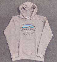 sudaderas streetwear al por mayor-Marca de moda para hombre PATAGONIA Hoodies Skateboard Streetwear sudaderas con capucha mujer 1973 Carta Imprimir Hoodies Hommes Tops