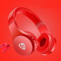 kulaklıklar süper bas toptan satış-Yeni Yüksek Kalite S55 Aşırı kulak Kulaklıklar Süper Bas Kablosuz Kulaklıklar Için Mic Ile Bluetooth Telefon Telefon