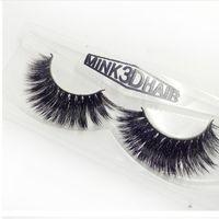 Wholesale best eyelash strips resale online - Best Price D Mink Fake Eyelashes Thick Dense Natural False Eyelashes Hand made Eye Lashes SD