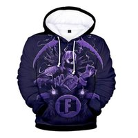 Wholesale purple clothes for girls size for sale - Hip Hop Fornite D Hoodie Sweatshirt Boy Girl Casual Hoodies Sweatshirt Cute Hoodie Women Suitable for fall wear clothing plus size xl