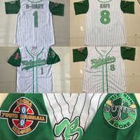 """Wholesale Names Baby - #1G-Baby Kekambas Jarius """"G-Baby"""" Evans DeWayne Warren Moive Hard Ball Embroidery Logos All Stiched Name And Number Baseball Jerseys"""