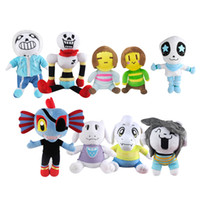 Wholesale undertale plush for sale - Hot Sale Style cm Undertale Sans Papyrus Asriel Toriel Stuffed Doll Plush Toy For Kids Christmas Gifts