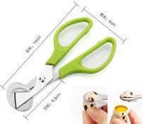 Metal Egg Cutter Pearl Opener Quail Eggs Scissors Cracker Tool Wholesale