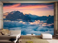 Wholesale mural kitchen resale online - Custom Wallpaper D Stereoscopic Modern minimalistic abstract rockm Painting Modern Abstract Art Wall Mural Living Room Bedroom Wallpaper