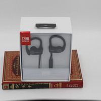 Wholesale green hd - PB Headphones Noise Reduction A++ Wireless Headphone 3.0 HD Sound Sport Earphone Ear Hook Bluetooth Headsets for Samsung DHL Free Shipping