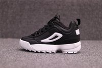 Wholesale Thick Sole Casual Black Shoes - Disruptors 2.0 for Mens Women Thick soles white sneaker Big Sawtooth Ladies Thick Bottom height Increasing Shoes casual Sports running shoes