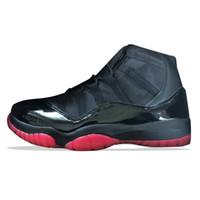 ingrosso nero nero 11s-Scarpe da pallacanestro da uomo 1111s Gamma Black BRED economiche Gamma Blue Black Red mens Sneakers sportive da ginnastica scarpe da corsa firmate da esterno