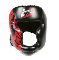 artes de proteção de boxe venda por atacado-Protetor de boxe de alta qualidade mma engrenagem protetora capacete de boxe adulto capacete de boxe guarda taekwondo capacete crianças capacete
