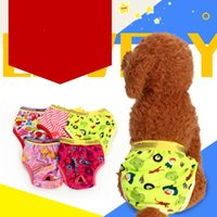 Wholesale trousers years online - High Grade Printing Pure Cotton Dog Physiological Pants Dogs Safety Trousers Ropa Para Perros Pet Supplies lc GG