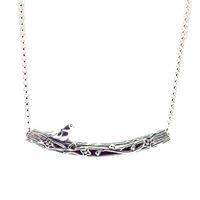moda kuşlar gümüş toptan satış-Pandora takı Kadınlar Orijinal Moda Pandantifler Takı için 925 Gümüş Kuş Kavisli Bar kolye ile uyumlu