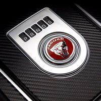 faguar toptan satış-Vites Topuzu Halka Kapak Dekorasyon Sticker Fit için Jaguar F-Pace, XE, XJ 2013-up, XF 2016-up