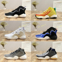 Wholesale crazy designer - 2018 New Air Crazy Byw I Socks Basketball Shoes Mens Red Pharrell X Ambition PK Designer Athletics Trainers Men Tennis Boost Shoe Sneakers