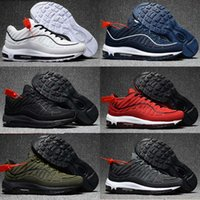 Wholesale Large Sized Cushions - hot sell air large size men women Running shoes cushion 98 super x Lab athletic Training Sporting Shoes Sneakers size 36-47