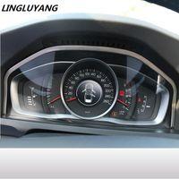 volvo stahl großhandel-Großhandel Auto Styling Für Volvo XC60 S60 S80V60 Tuning Spezielle Instrumententafel Dekorative Rahmen Edelstahl Auto Zubehör Interior