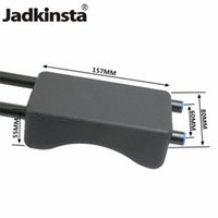 Wholesale 15mm camera rail system resale online - Jadkinsta Soft EVA Camera Shoulder Pad for D2 D GH1 GH2 Shoulder Pads for Standard Support System mm Rail Rod Rig Camcorder