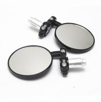 espelho retrovisor de moto universal venda por atacado-Motocicleta Espelhos Laterais 7/8