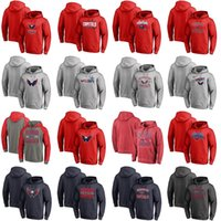 Wholesale womens sweatshirts xxl - 2018 Stanley Cup Champion Patch Mens Womens Youth Washington Capitals Pullover Hoodie 100% Stitched Hockey Jerseys Sweatshirt Mix Order