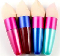 mejores mezcladores de belleza al por mayor-2018 nueva mejor calidad Fundación de maquillaje Esponja Puff Blender Blending Polvo sin defectos Smooth Cosmetic Smooth Puff cepillo belleza por dhl