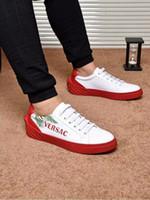 bağlı eller toptan satış-Erkekler için koşu ayakkabıları maraton düz uygun deri açık hareketi yumuşak güçlü nefes el yapımı ayak bağlama