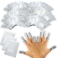 NEW ARRIVAL 100Pcs Lot Aluminium Foil Nail Art Soak Off Acrylic Gel Polish Nail Removal Wraps Remover Makeup Tool Nail Carel