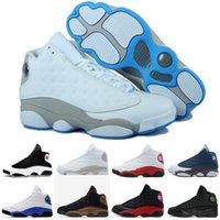 zapatillas de baloncesto de los hombres zapatos de descuento al por mayor-Retro Air Jordan 13 AJ13 Nike Zapatillas de baloncesto de moda zapatilla para hombre 13s zapato LoveRespect HE GOT GAME moda para hombre zapatillas deportivas descuento zapatos envío de la gota