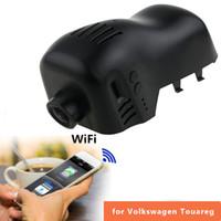 Wholesale hidden motion video - For Volkswagen Touareg 2011-2014 Dash Cam Novatek 96655 WiFi 1080P Car DVR Hidden Installation Registrar Video Recorder With APP Control