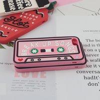 ruban adhésif achat en gros de-Coque YunRT Lovely pour iPhone 7 Plus 6 6s 7 8 Plus X XR XS Max Sauce Chaude Tasse à Café Bande Magnétique Téléphone Retour Couverture De Silicium