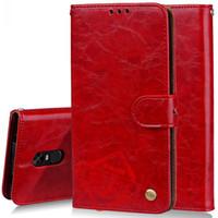 cas pour xiaomi rouge mi achat en gros de-Waxy Vintage étui en cuir PU étui en cuir Flip Wallet téléphone portable Shell Kickstand pour Xiaomi MI A1 rouge MI 5 5+ Note 5A Note4 4A rouge MI 3S