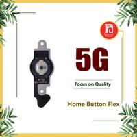 botón de inicio para el iphone 5g al por mayor-Para iPhone 5 Botón de menú de inicio Cable flexible con placa de metal Llave de retorno Cable Cable de cinta Piezas de repuesto para Apple iPhone 5 5G