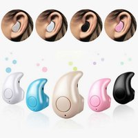 Wholesale invisible wireless headset - Mini Invisible Wireless Bluetooth Headphone S530 In-Ear V4.0 Earphone Headset Handfree For iPhone X 6 6s Samsung Smart Phone retail box