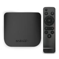 Wholesale media stream - M8S PLUS W Amlogic android 7.1 tv box 1GB 8GB quad core streaming media player bet X96 mini xiaomi